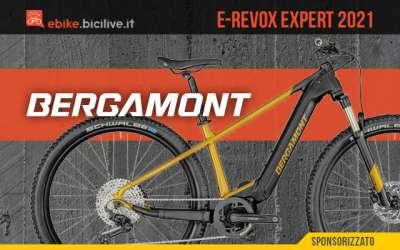 Bergamont E-Revox Expert 2021: mtb elettrica front