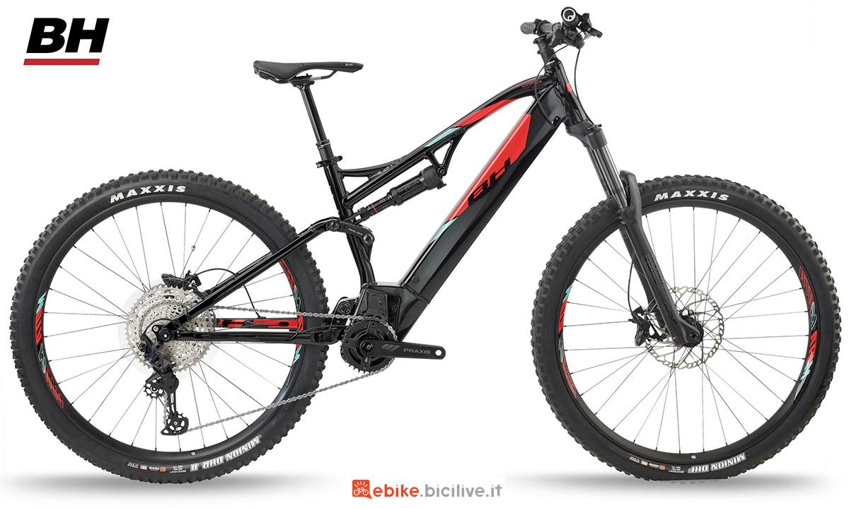La nuova mountainbike elettrica full BH Atom Lynx 5.5 Pro 2021