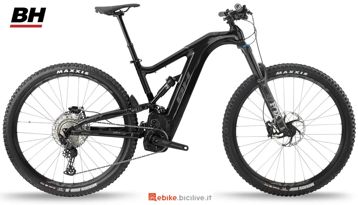 La nuova emtb biammortizzata BH Atomx Carbon Lynx 5.5 Pro 2021