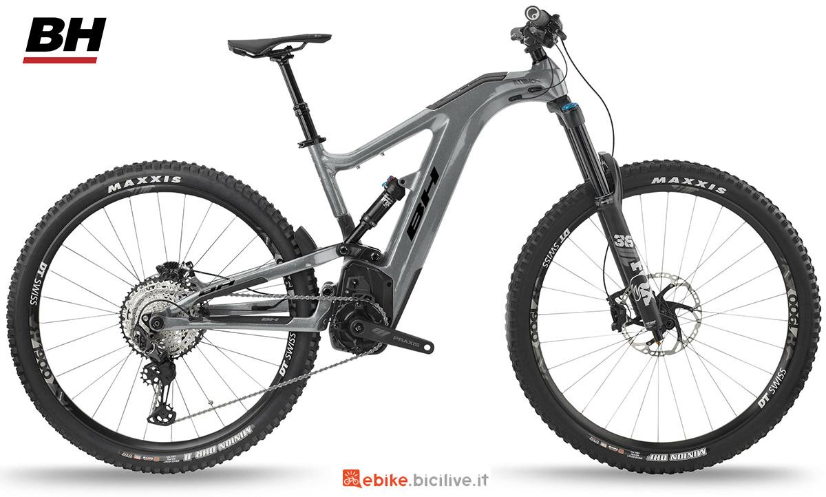 La nuova emtb biammortizzata BH Atomx Carbon Lynx 5.5 Pro S 2021