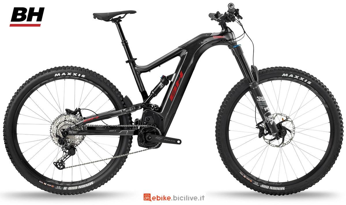 La nuova emtb biammortizzata BH Atomx Carbon Lynx 6 Pro 2021