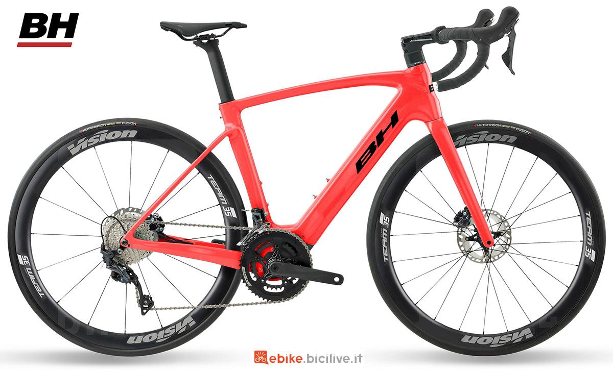 La nuova ebike da strada BH Core Race Carbon 1.6 2021