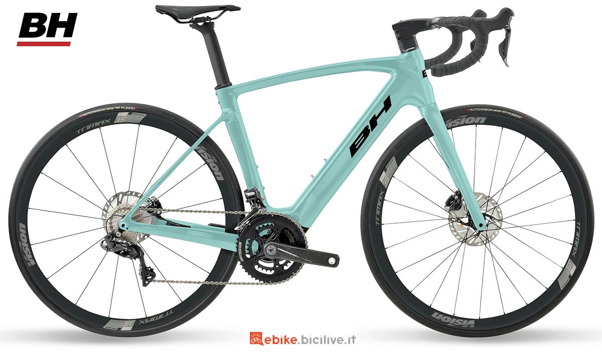 La nuova ebike da strada BH Core Race Carbon 1.8 2021