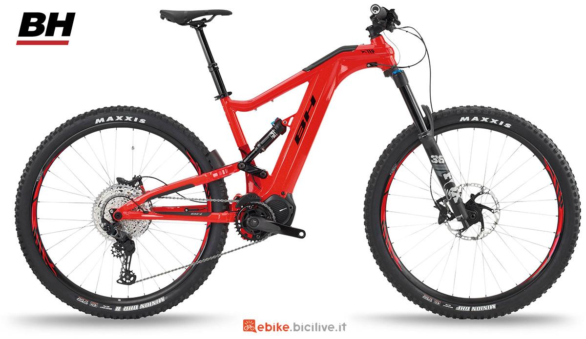 La nuova mountainbike elettrica full BH Xtep Lynx 5.5 Pro 2021