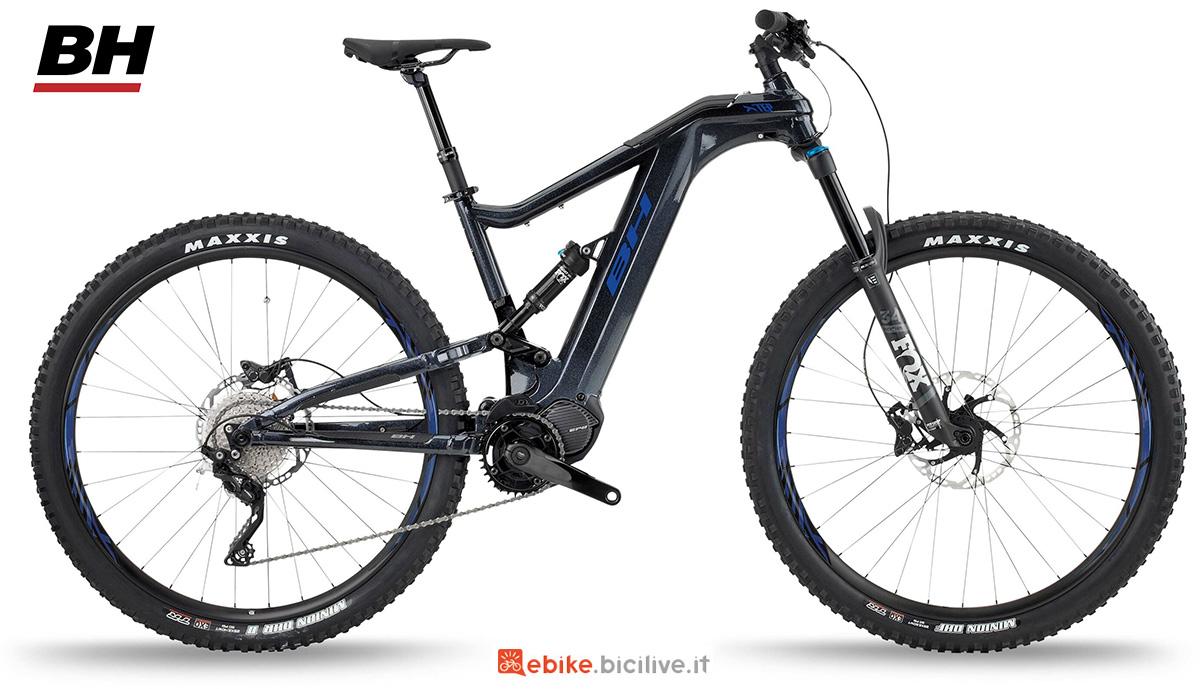 La nuova mountainbike elettrica full BH Xtep Lynx 5.5 Pro L 2021
