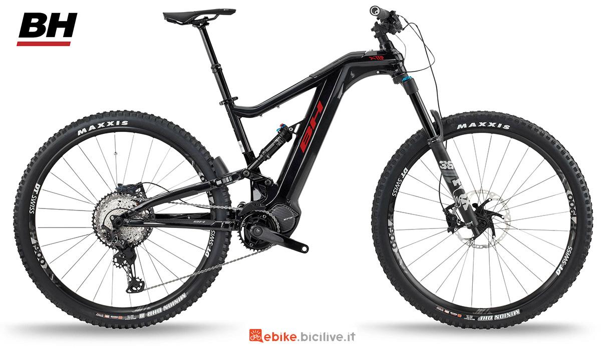 La nuova mountainbike elettrica full BH Xtep Lynx 5.5 Pro S 2021