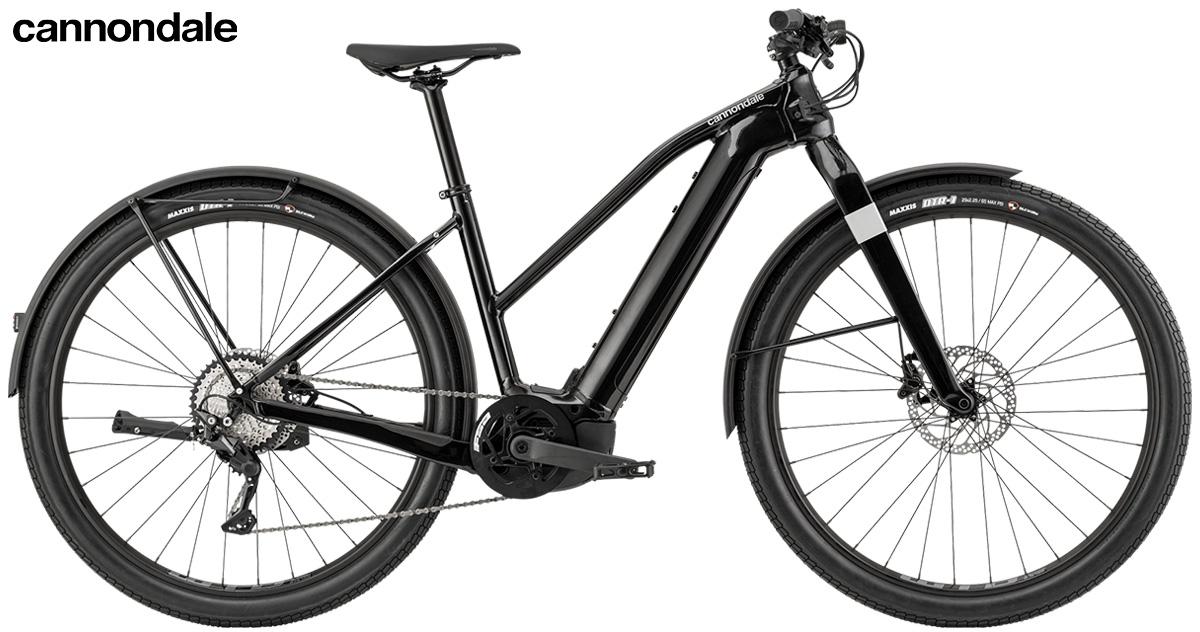 La nuova ebike da trekking Cannondale Canvas Neo 1 Remixte 2021