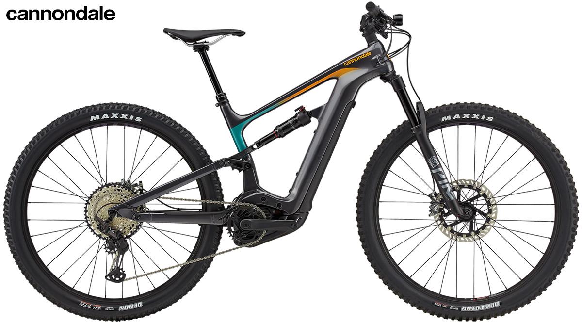 La nuova mountainbike elettrica biammortizzata Cannondale Habit Neo 1 2021