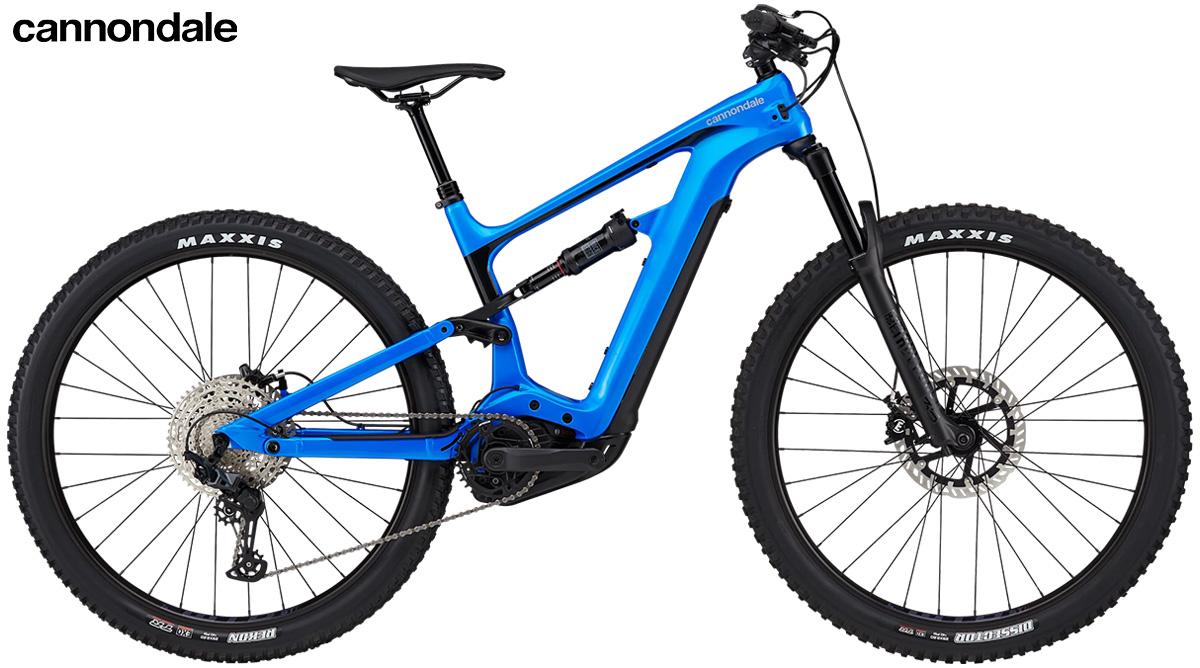 La nuova mountainbike elettrica biammortizzata Cannondale Habit Neo 3 2021