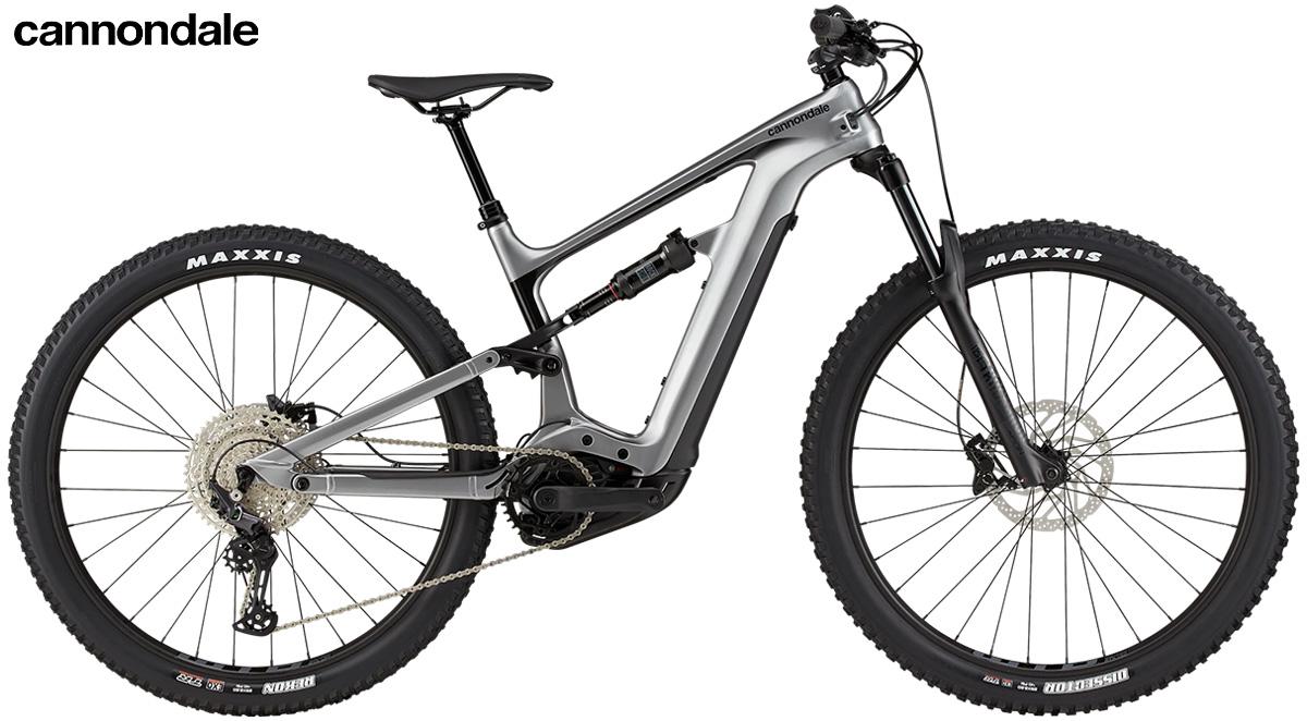 La nuova mountainbike elettrica biammortizzata Cannondale Habit Neo 4 2021