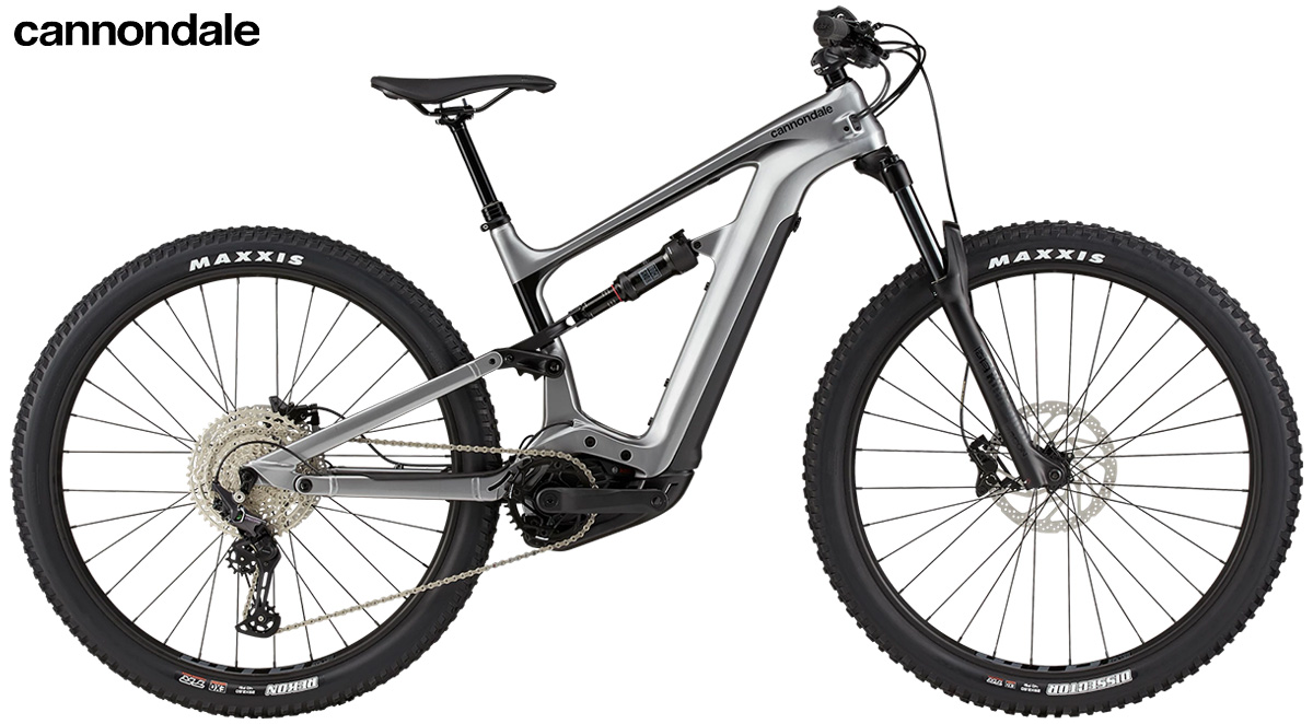 La nuova mountainbike elettrica biammortizzata Cannondale Habit Neo 4 plus 2021