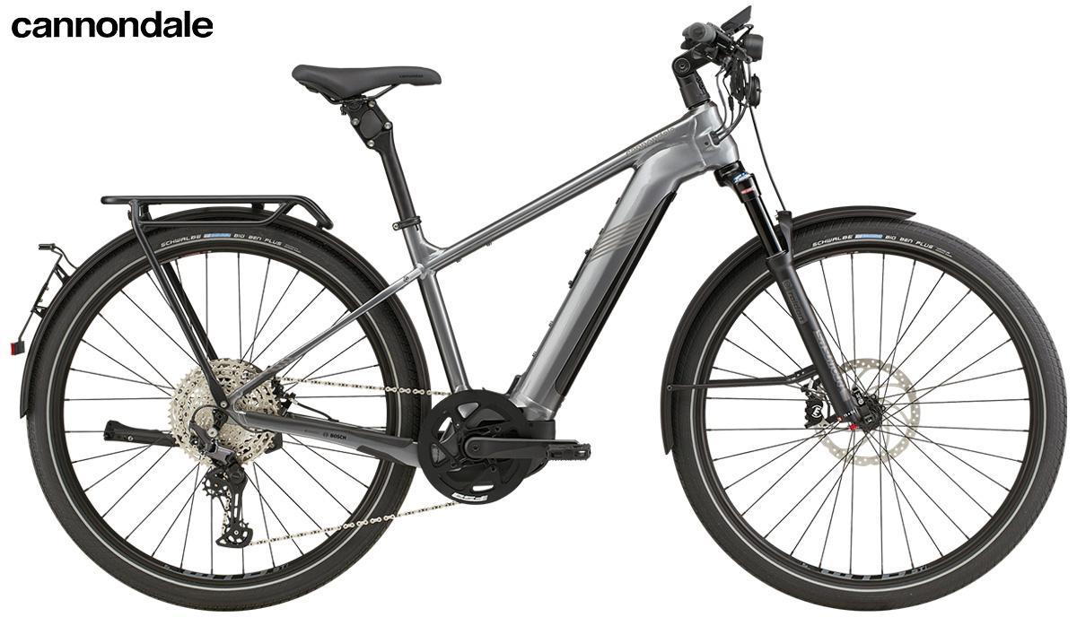 La nuova ebike da trekking Cannondale Tesoro Neo X Speed 2021
