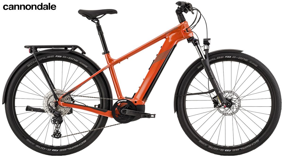 La nuova bici elettrica da trekking Cannondale Tesoro Neo X2 2021