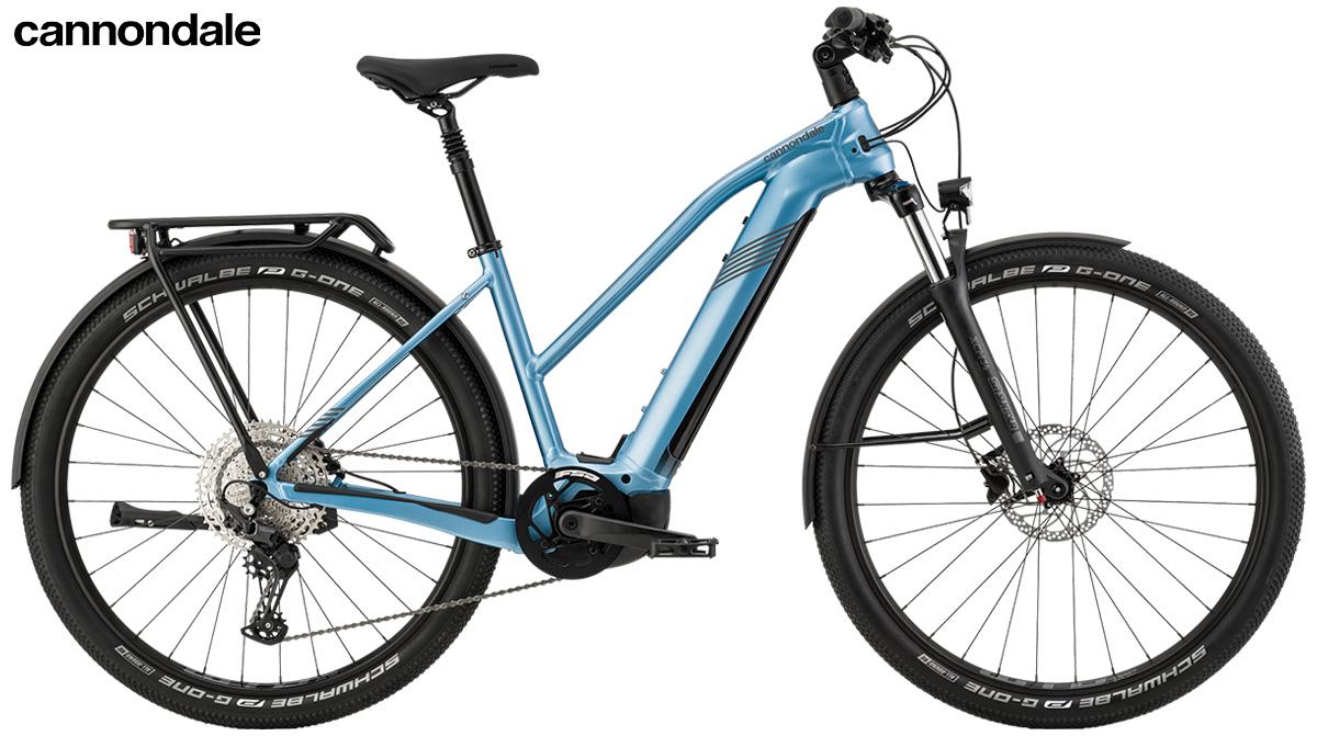 La nuova bici elettrica da trekking Cannondale Tesoro Neo X2 Remixte 2021
