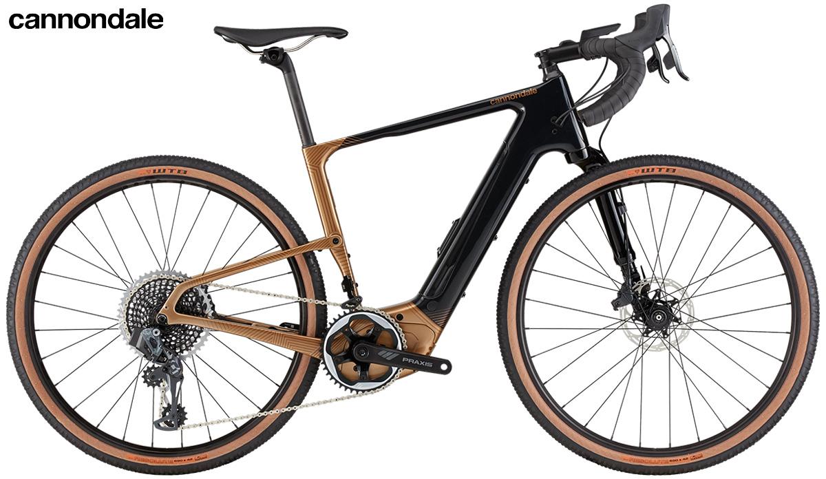La nuova bici elettrica da gravel Cannondale Topstone Neo Carbon Lefty LE 2021