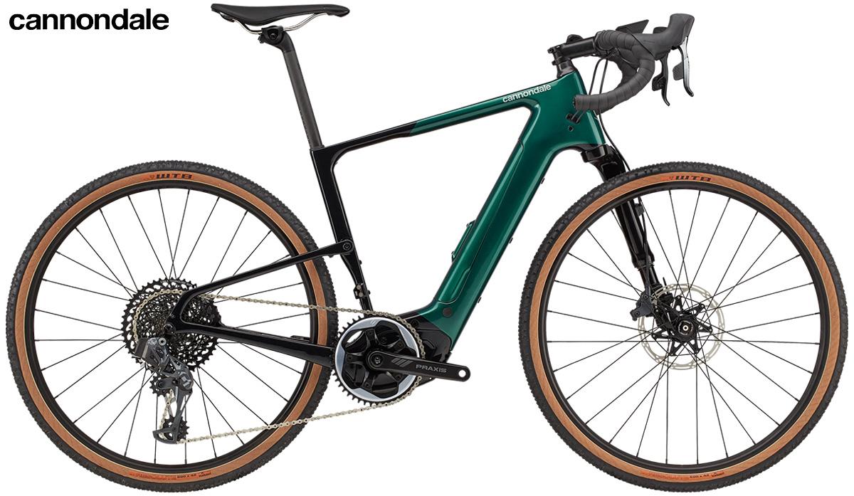 La nuova bici elettrica da gravel Cannondale Topstone Neo Carbon Lefty 1 2021