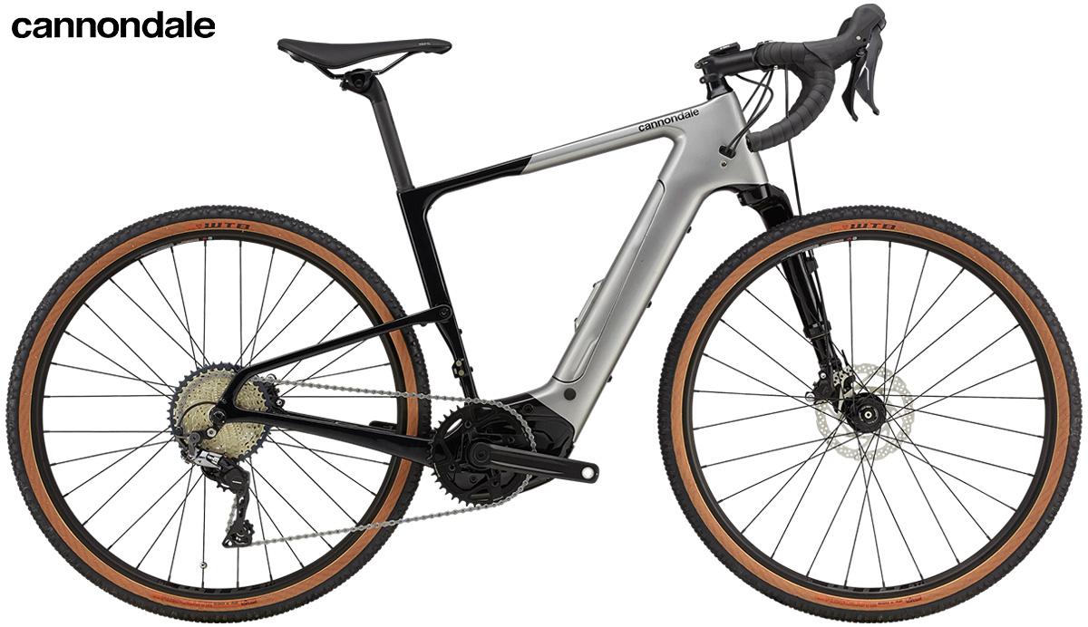 La nuova bici elettrica da gravel Cannondale Topstone Neo Carbon Lefty 3 2021