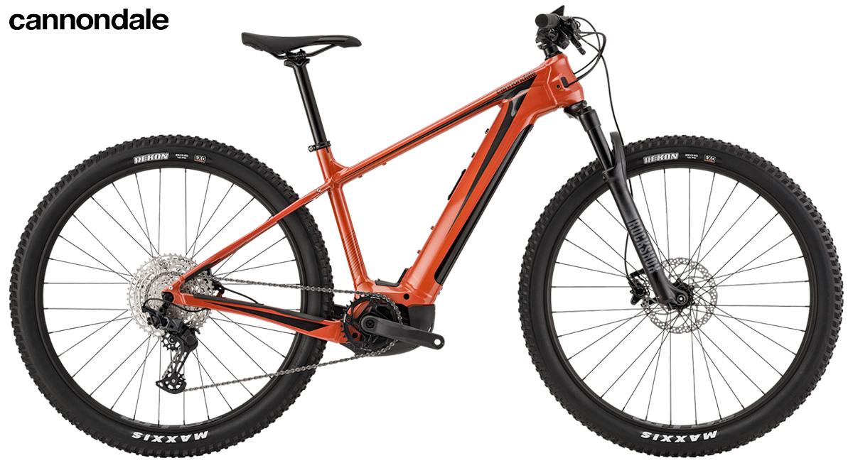 La nuova mountainbike elettrica hardtail Cannondale trail neo 1 2021
