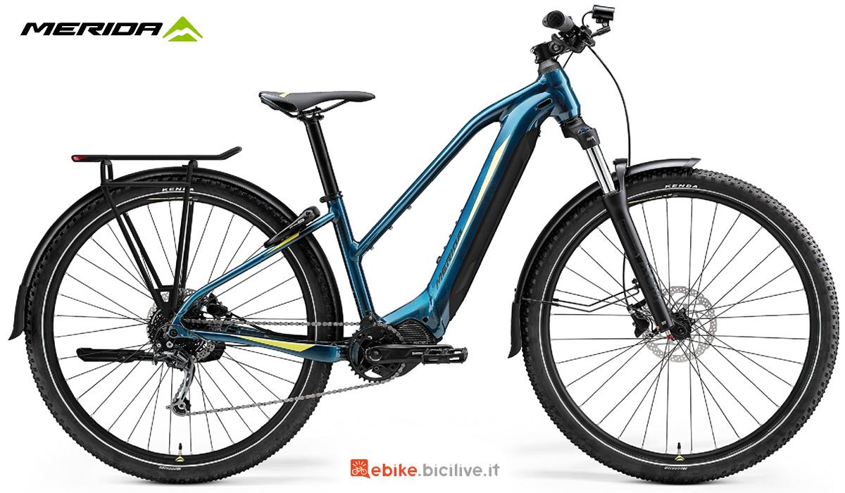 La nuova ebike da trekking Merida Big Tour 400 EQ 2021