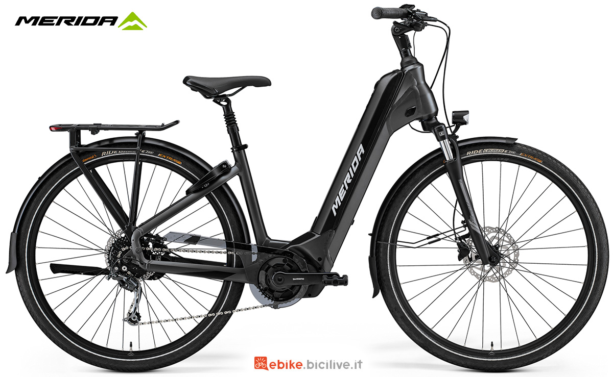 La nuova ebike da trekking Merida Espresso City 400 EQ 2021