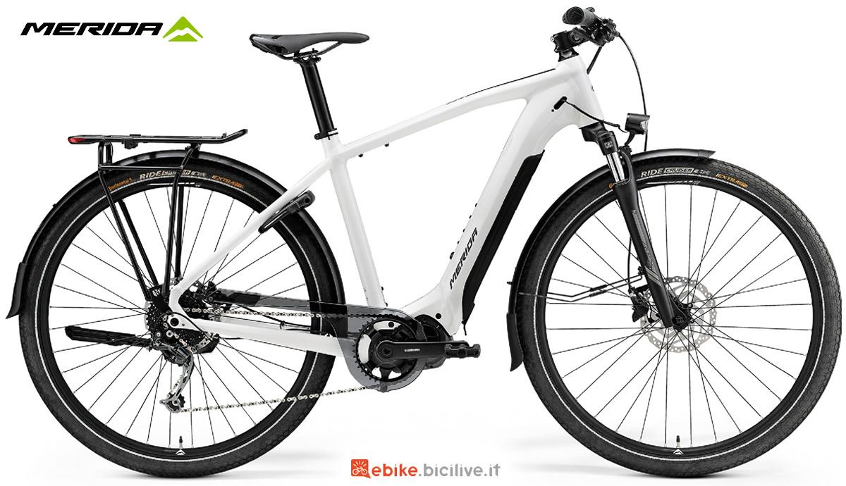 La nuova bici elettrica da trekking Merida Espresso City 400S EQ 2021