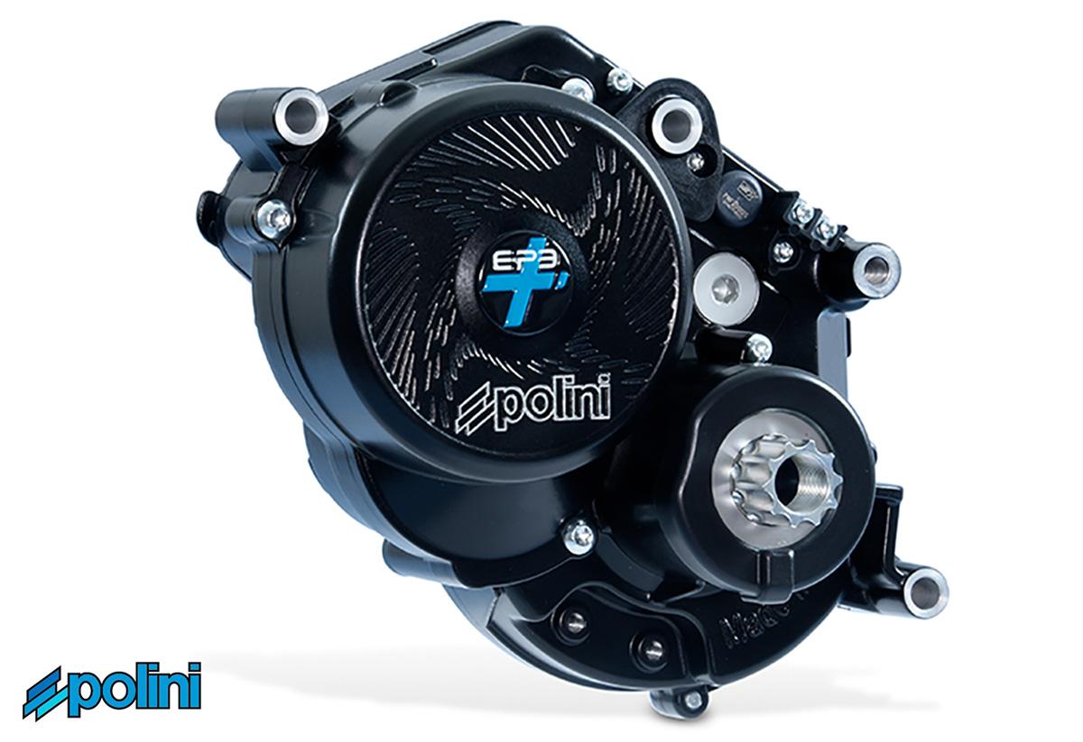 Il motore Polini E-P3+ sviluppato per biciclette da strada elettriche