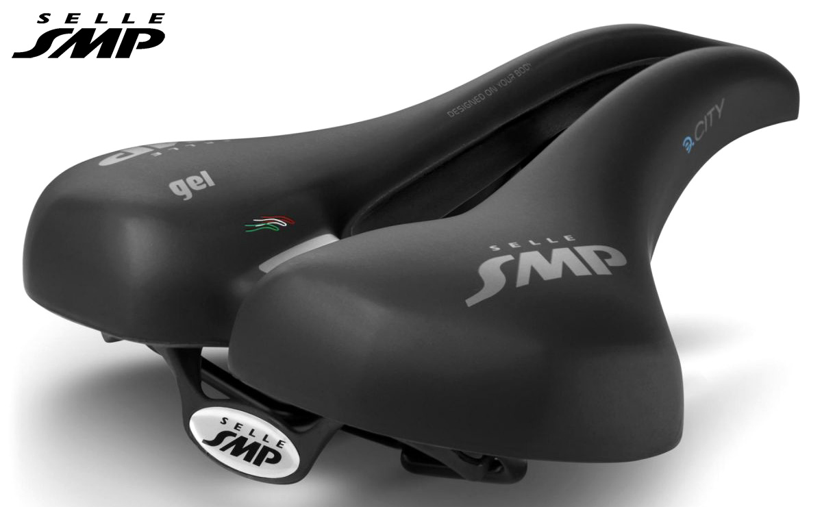 Sella Selle SMP E-Bike Concept E-City 2021 vista di tre quarti