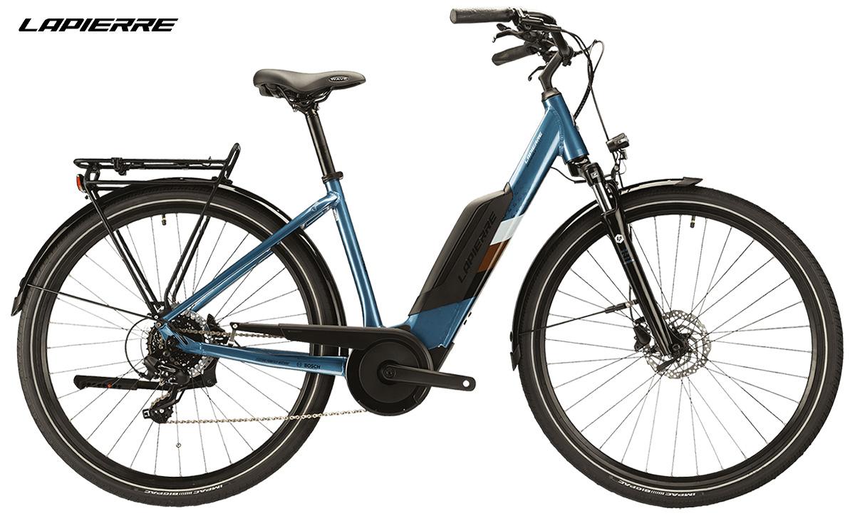 La city bike elettrica Lapierre Overvolt Urban 2021
