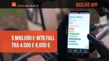 Le 5 migliori emtb full 2021 selezionate dall'app BiciLive