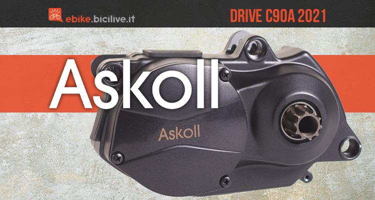 Il nuovo motore per ebike tutto italiano Askoll Drive C90A 2021