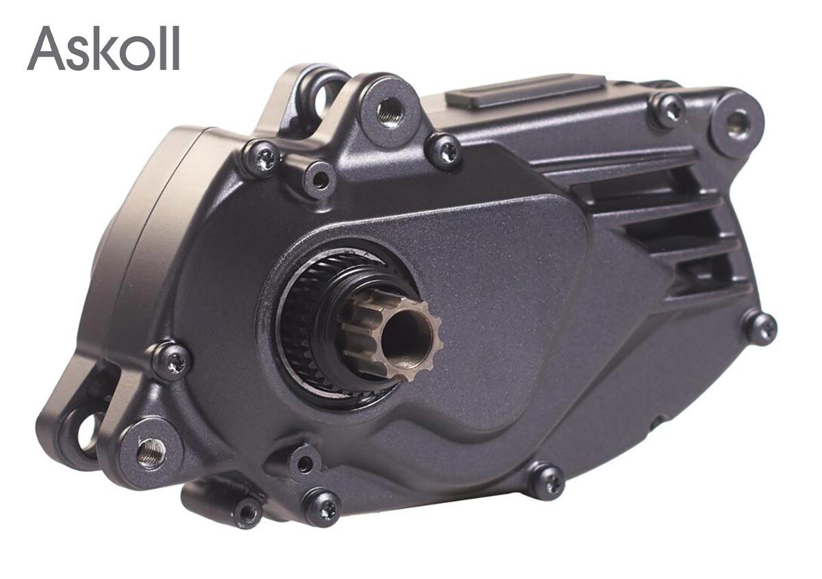Particolare del drive system Askoll Drive C90A visto lateralmente