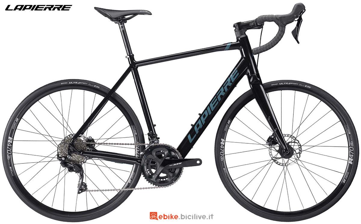 La nuova ebike da strada Lapierre Esensium 5.2 2021