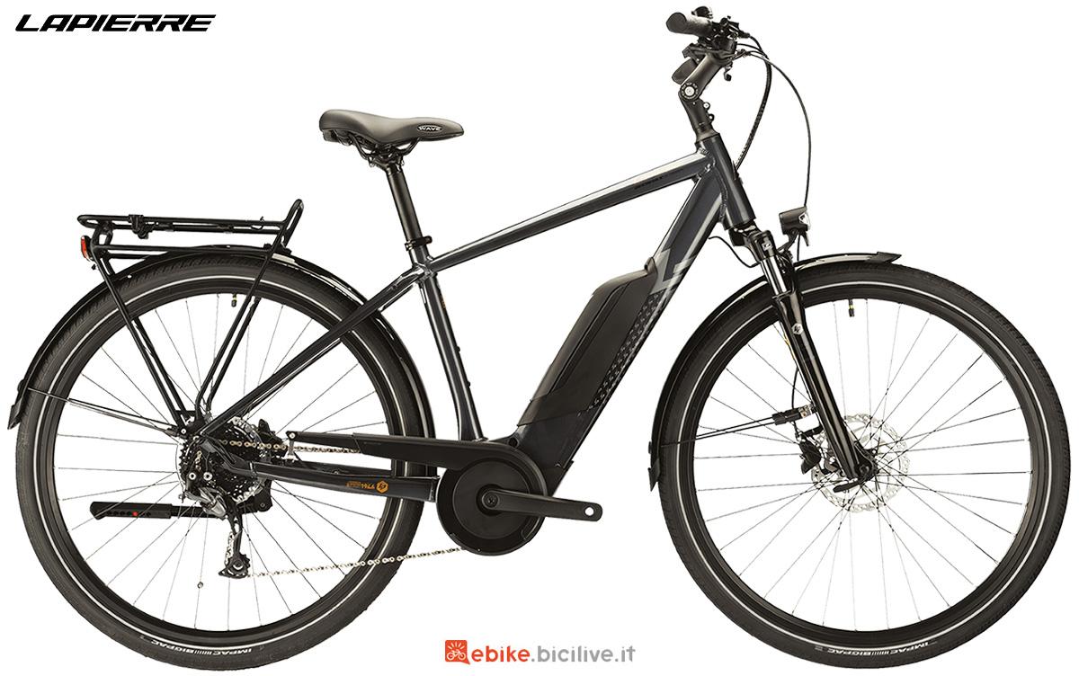 La nuova bici a pedalata assistita da trekking Lapierre Overvolt Trekking 6.5 2021