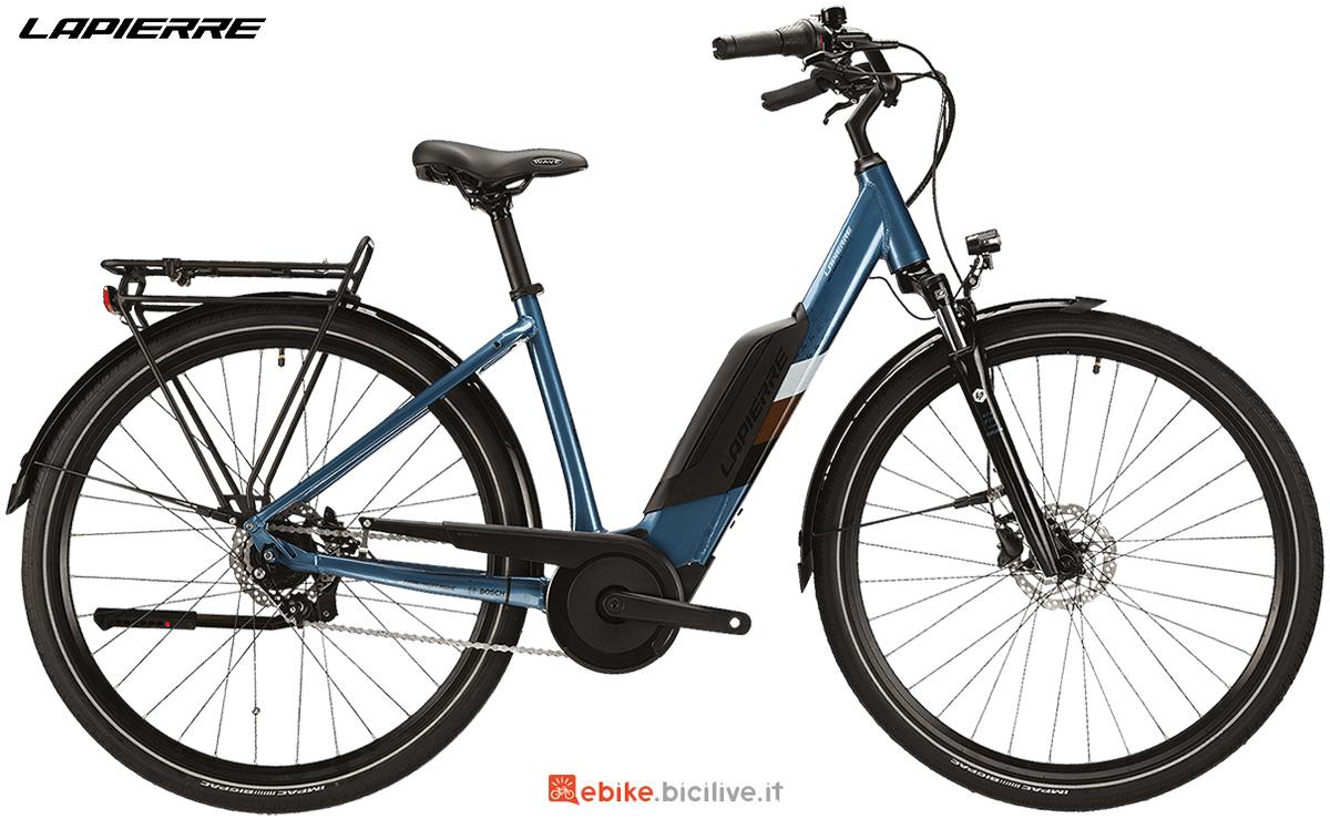 La nuova ebike da città Lapierre Overvolt Urban 3.4 2021