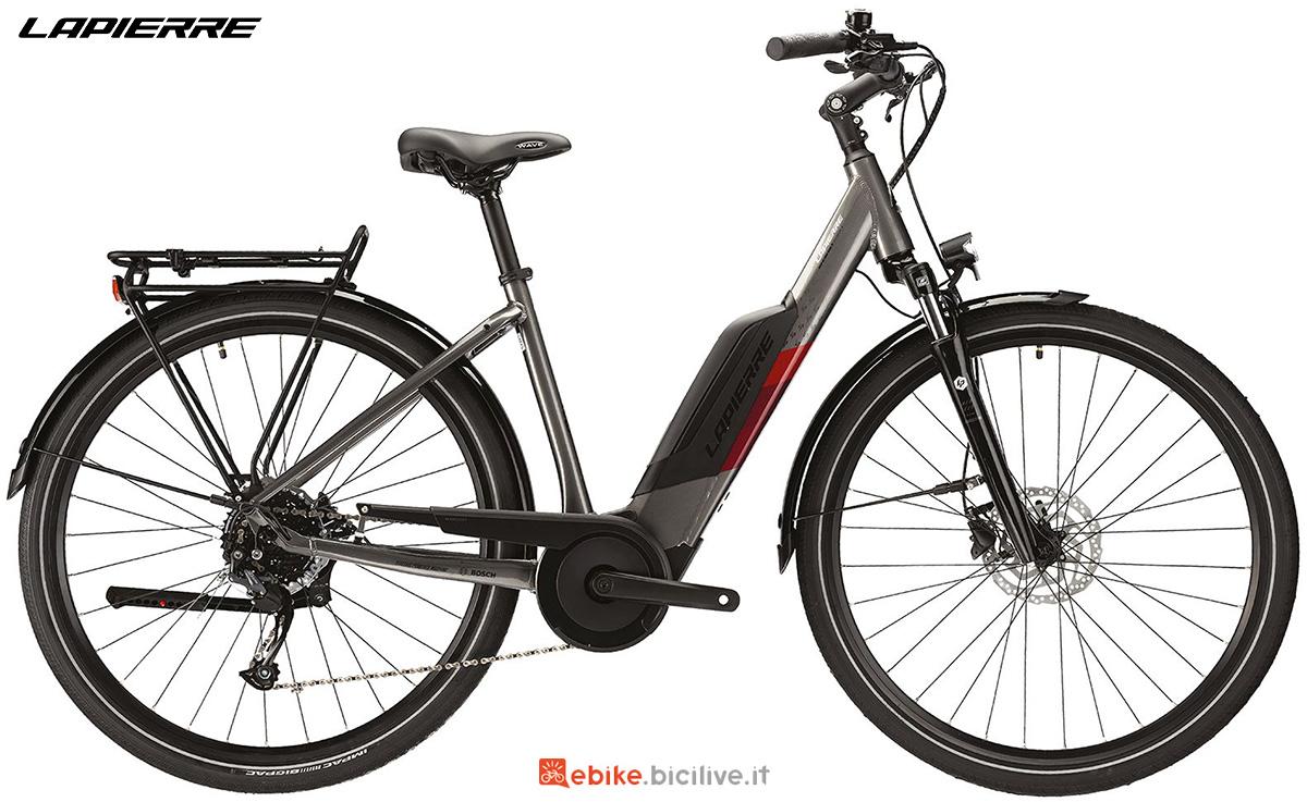 La nuova bici elettrica urbana Lapierre Overvolt Urban 4.4 2021