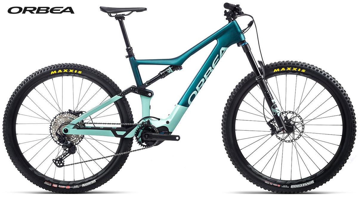 La nuova mountainbike elettrica biammortizzata Orbea Rise M20 2021