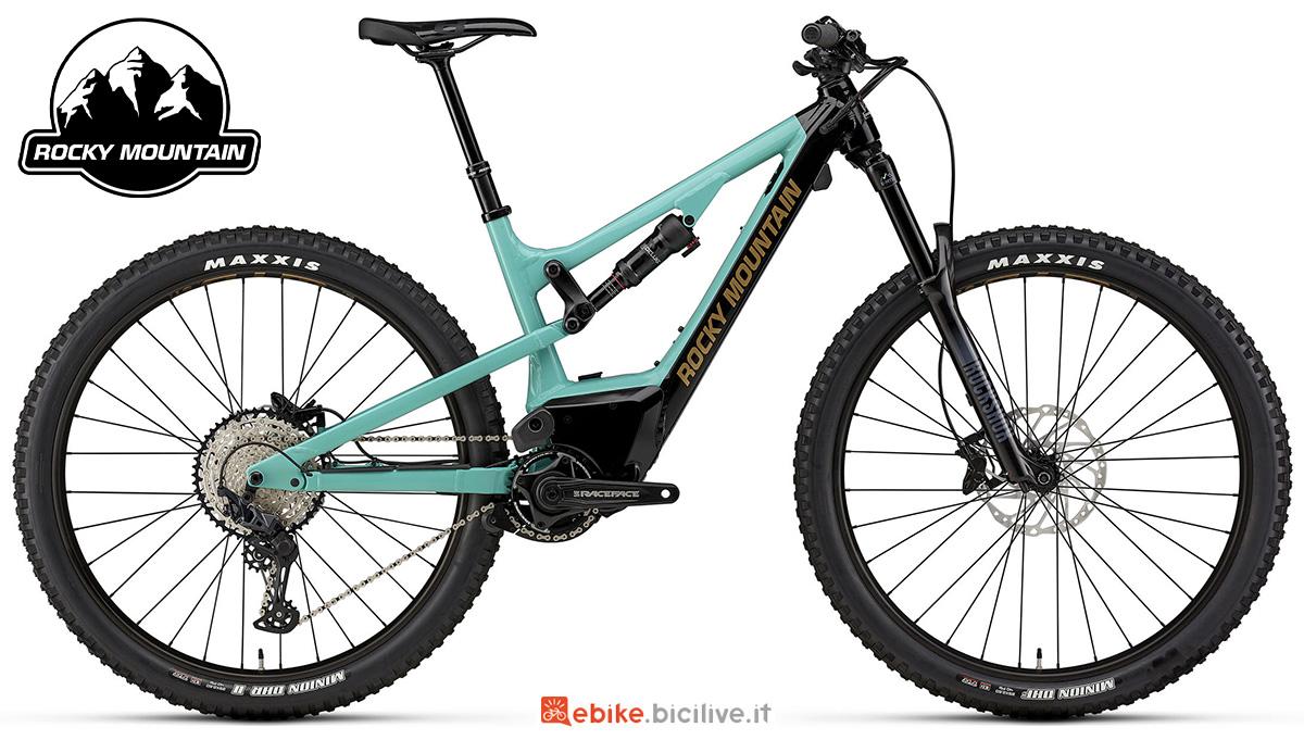 La nuova mountainbike elettrica full-suspended Rocky Mountain Instinct Powerplay Alloy 30 2021