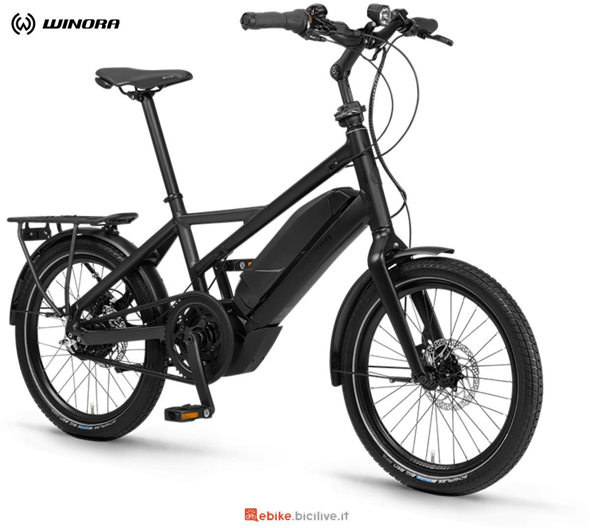 La nuova bici elettrica urbana Winora Radius Tour 2021