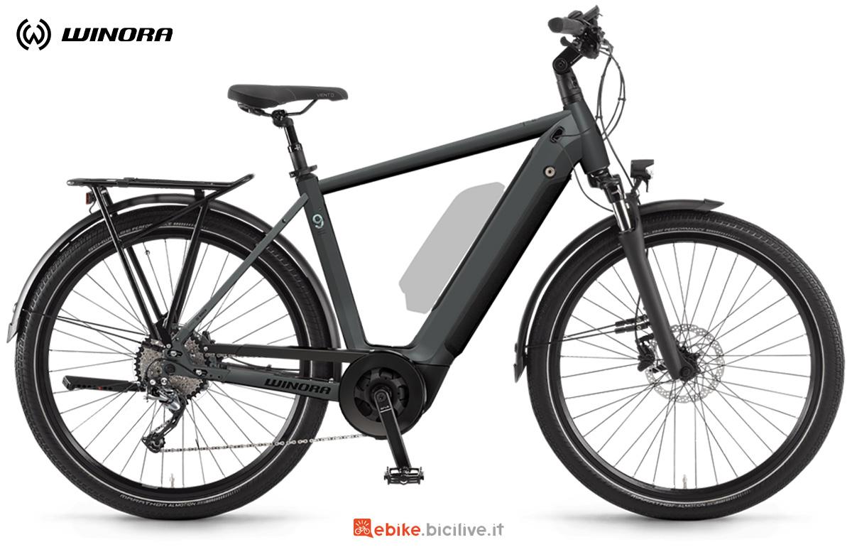 La nuova ebike da trekking Winora Sinus 9 2021