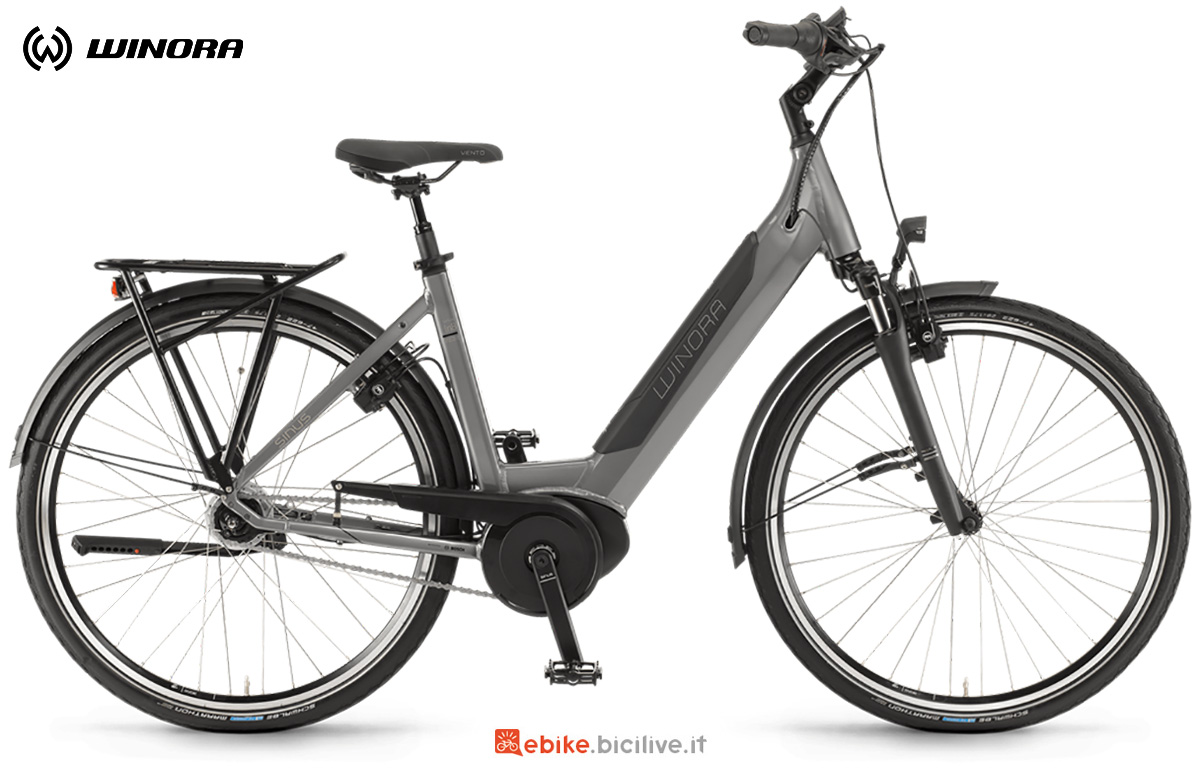 La nuova ebike da trekking Winora Sinus In8f 2021