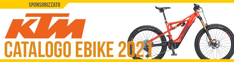 Catalogo e listino prezzi ebike 2021 KTM