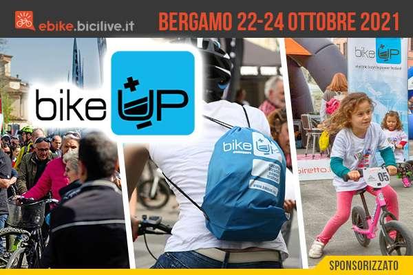 BikeUP 2021: a Bergamo bici elettriche protagoniste dal 22 al 24 ottobre
