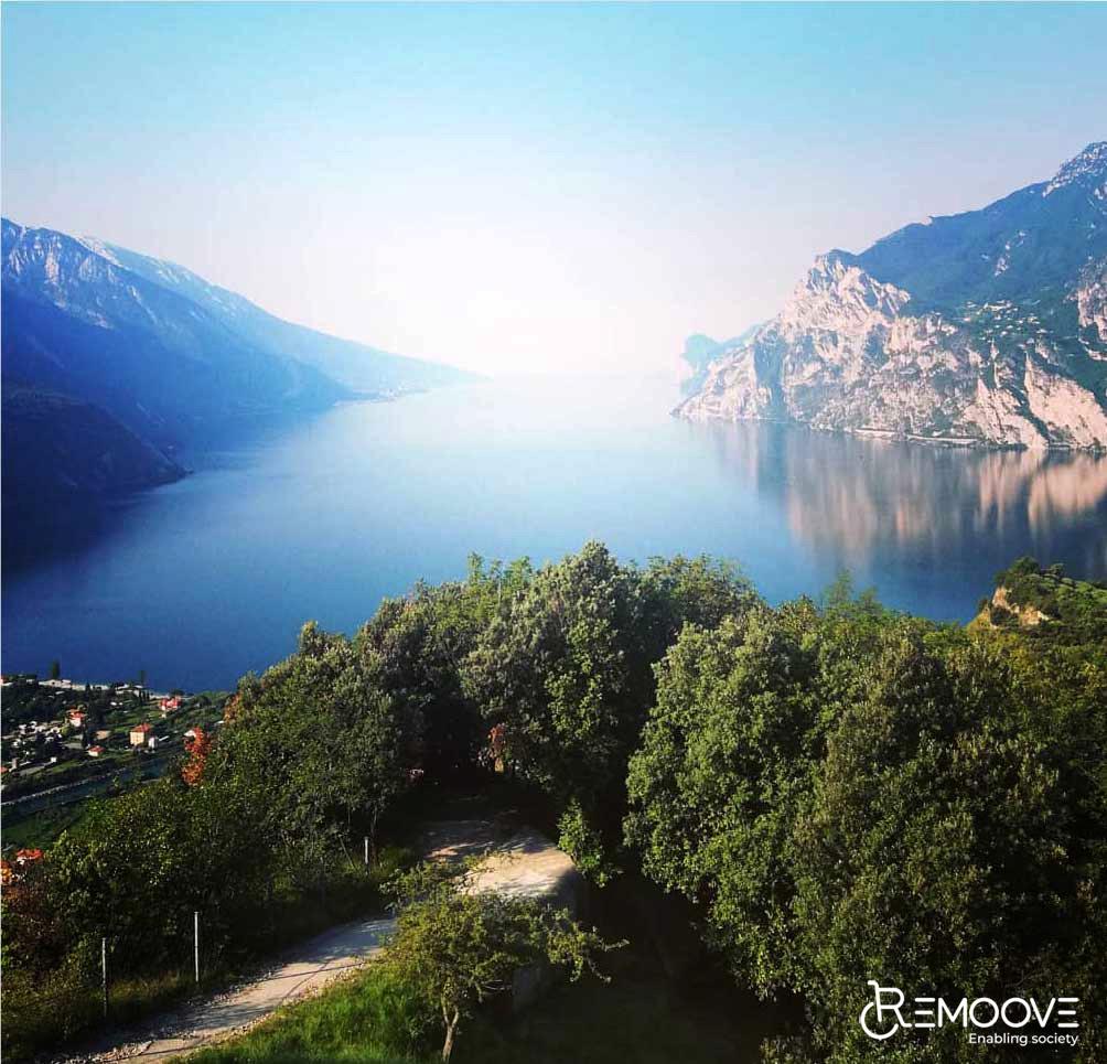 Una foto del Lago di Garda