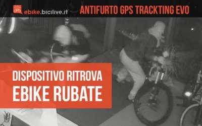 Il dispositivo antifurto Trackting EVO ritrova le ebike rubate dal negozio Mondo Ebike