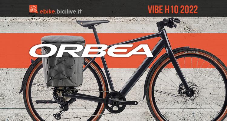 La nuova ebike da città Orbea Vibe H10 2022