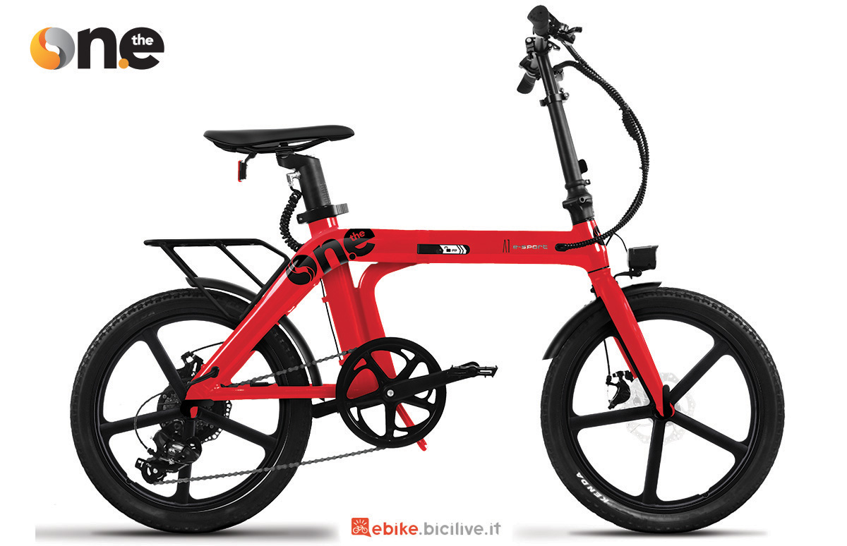 La nuova ebike pieghevole The One A1 Sport 2021