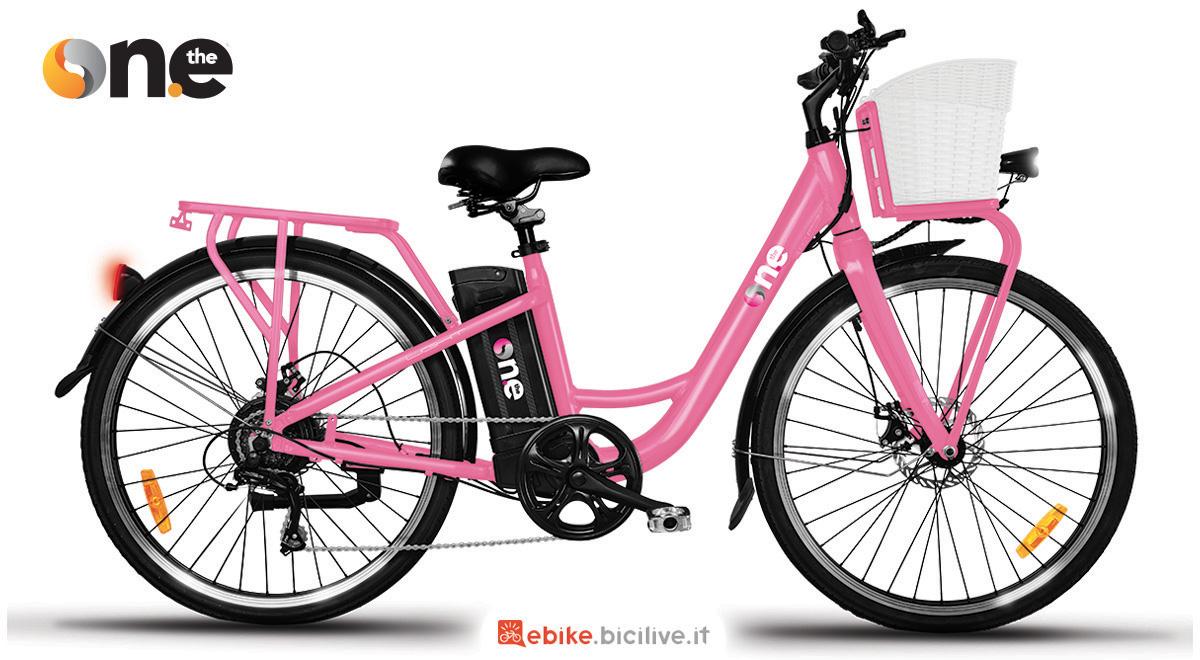 La nuova bici elettrica da città The One Light 2021