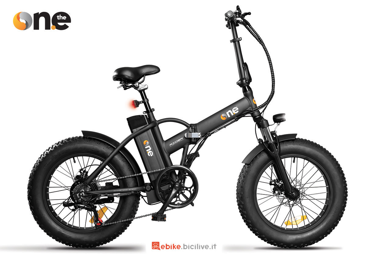 La nuova bici elettrica pieghevole The One Rider 2021