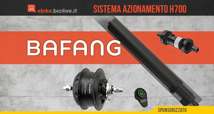 Il nuovo kit di razionamento per ebike Bafang H700 2021
