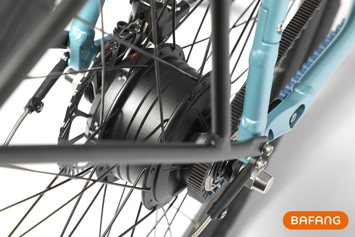 Dettaglio del motore elettrico per bici del kit Bafang H700 2021